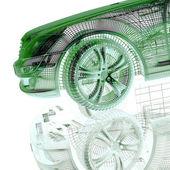 Fotografie model automobilu