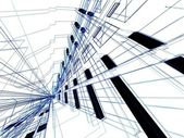 abstraktní architektonické