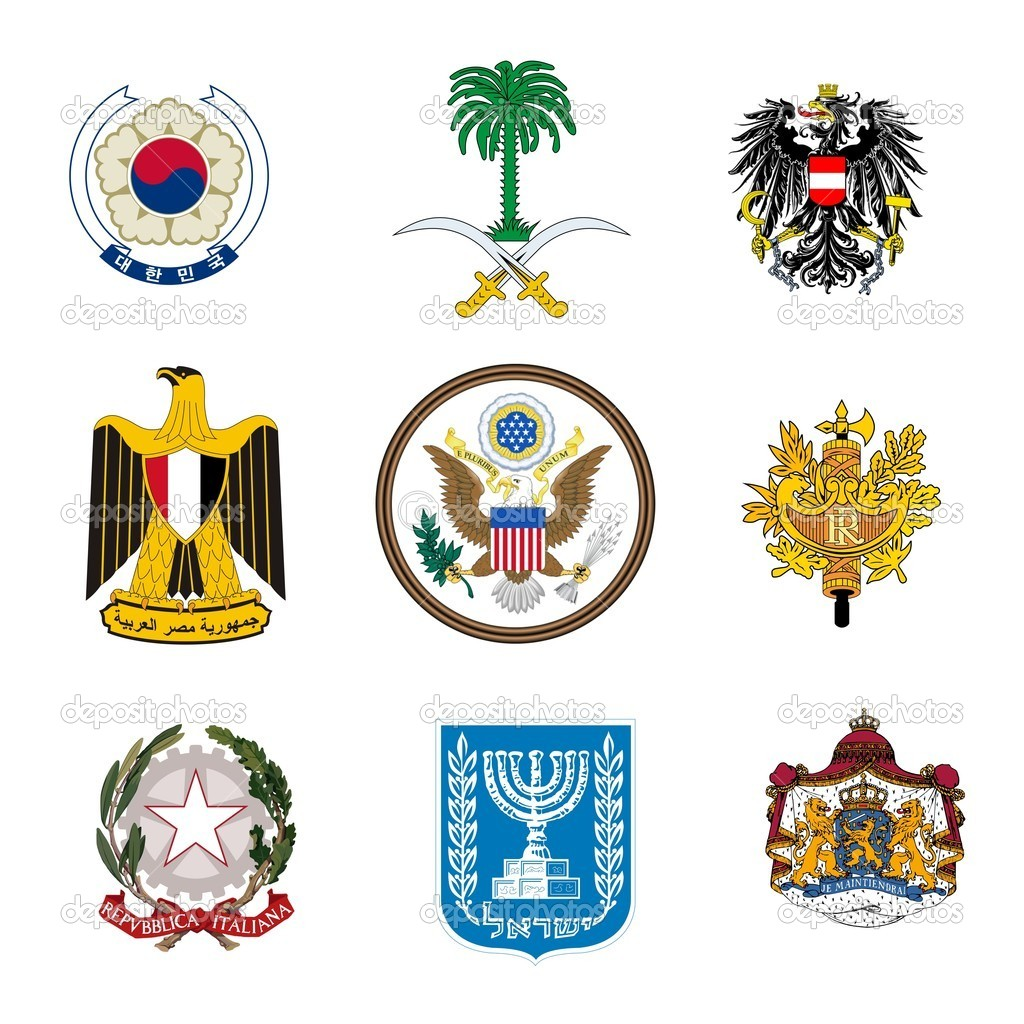 Military coats of arms