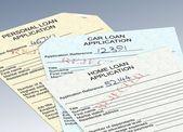 Domande di prestito rifiutato