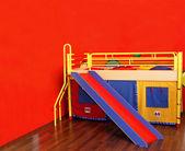 Fényképek gyermek szobában