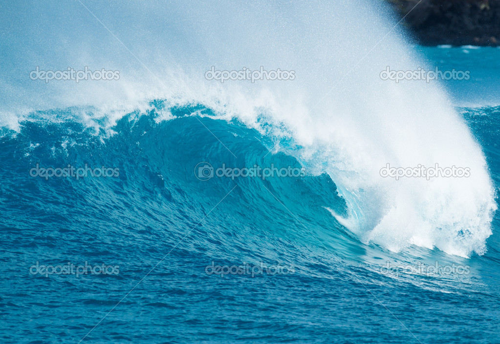 Фотообои Blue Ocean Wave