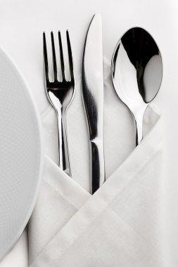 Table served tableware