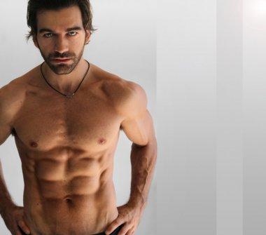 Sexy shirtless man