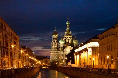 White nights, Saint-Petersburg