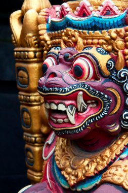 Balinese wooden Barong Statue