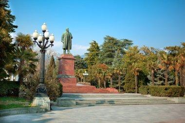 Monument to Lenin. Yalta, Crimea, Ukraine