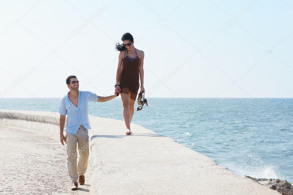 Фото муж и жена на море парятся видео