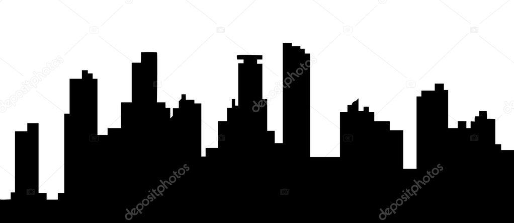 michigan skyline stock vector compuinfoto 8455595 rh depositphotos com