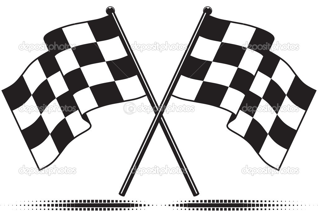vector checkered flags stock vector diamond images 8553509 rh depositphotos com checkered flag vector download vector checkered flag pattern