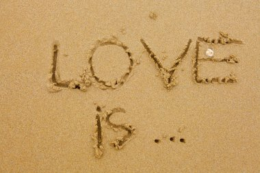 Love is inscription