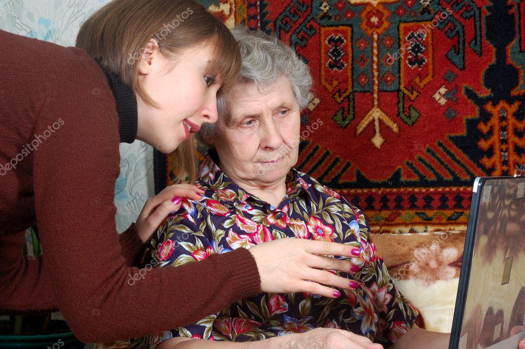 прописка внучки к бабушке