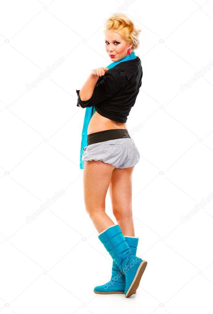 Стильные фотографии девушек блондинок в пол оборота фото 116-387