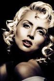 Fotografie Marilyn monroe imitace. retro styl