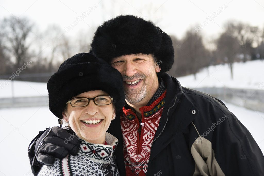 Portrait of couple.
