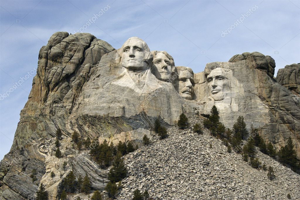 Mount Rushmore Monument.