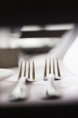 Forks on Table