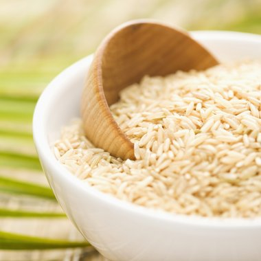 Grain in a White Ceramic Bowl