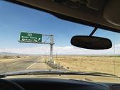Vozidlo na dálnici