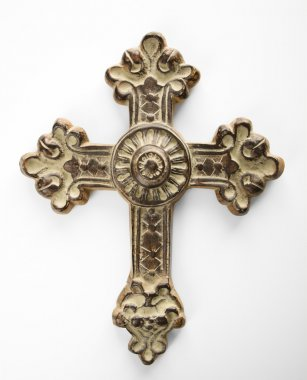 Ornate cross.