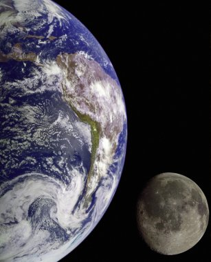 Earth from outer space.
