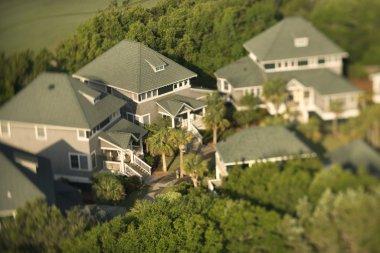 Neighborhood aerial.
