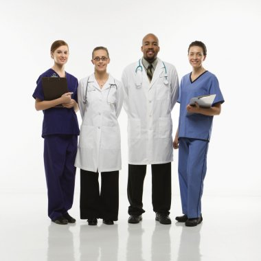 Medical healthcare workers.