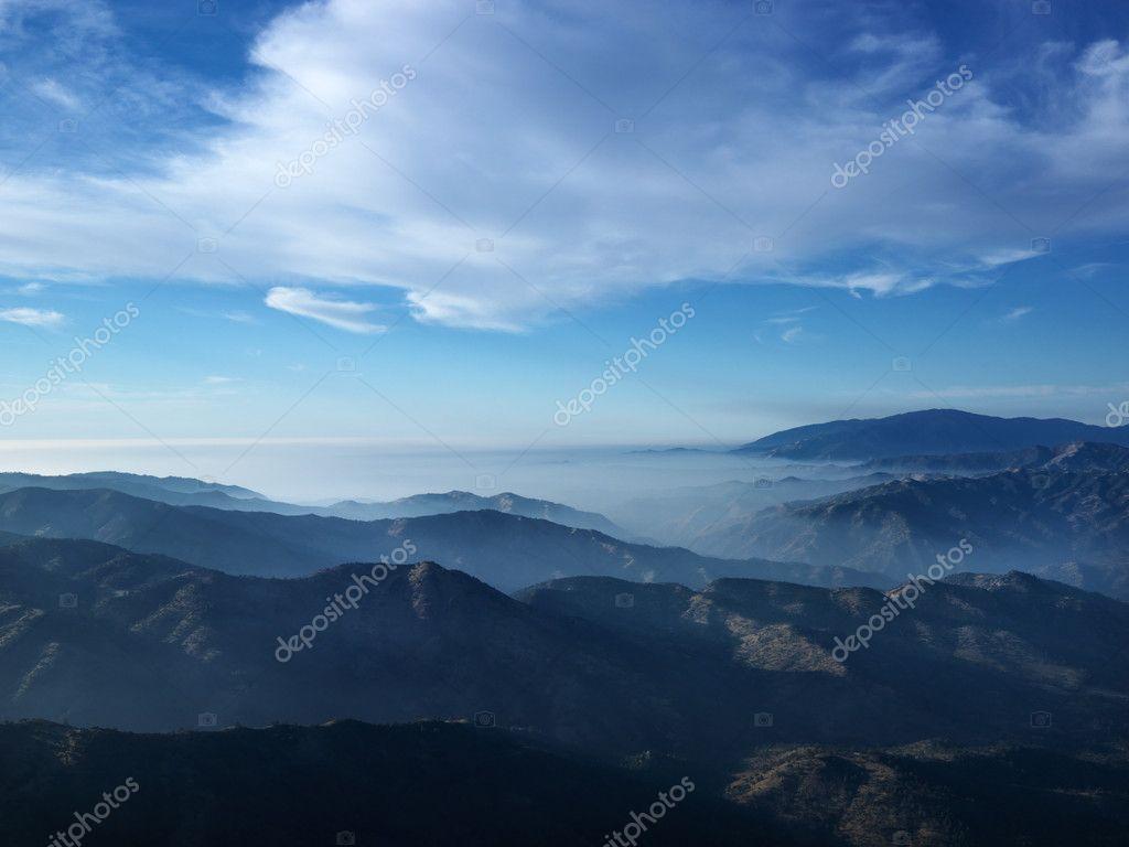 California mountains.