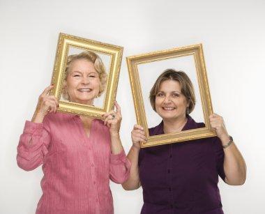 Women portraits.