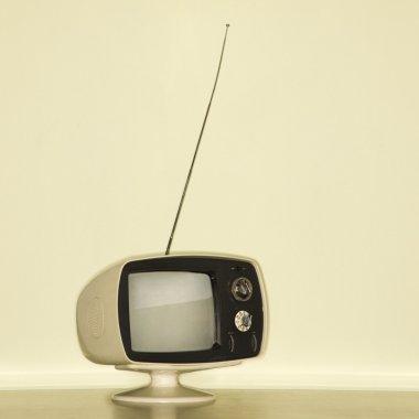 Vintage television set.