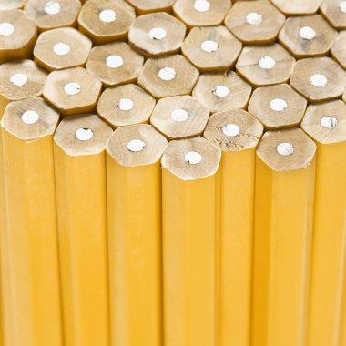 Unsharpened pencils.