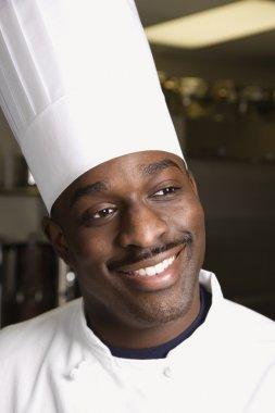 Head shot of chef.