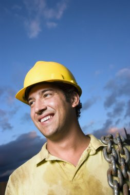 Construction Worker Smiling