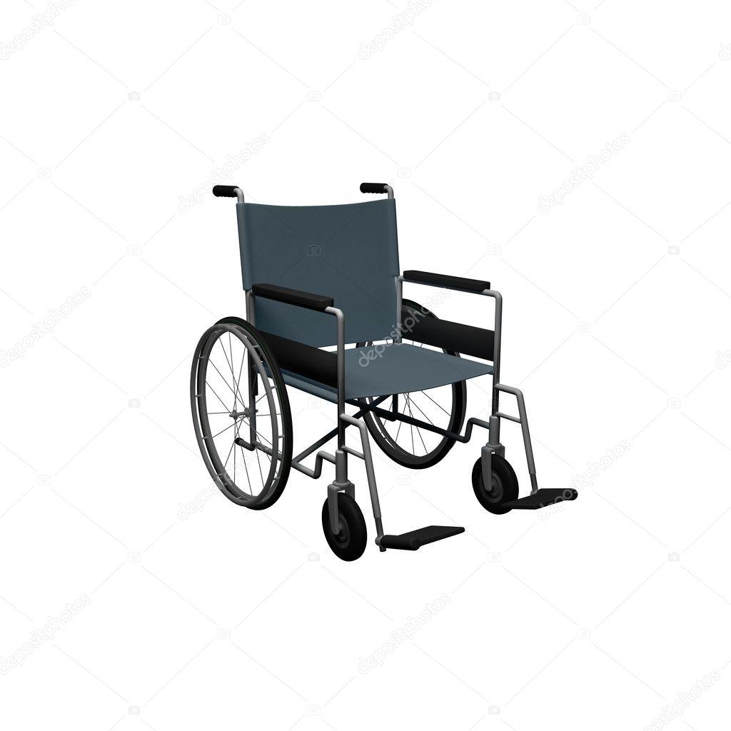 Tekerlekli Sandalye Bu Resimde Bir 3d Render Stok Foto