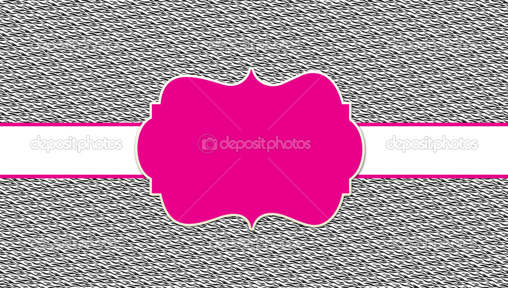 Zebra hot pink business card template stock photo stayceeo zebra hot pink business card template stock photo colourmoves