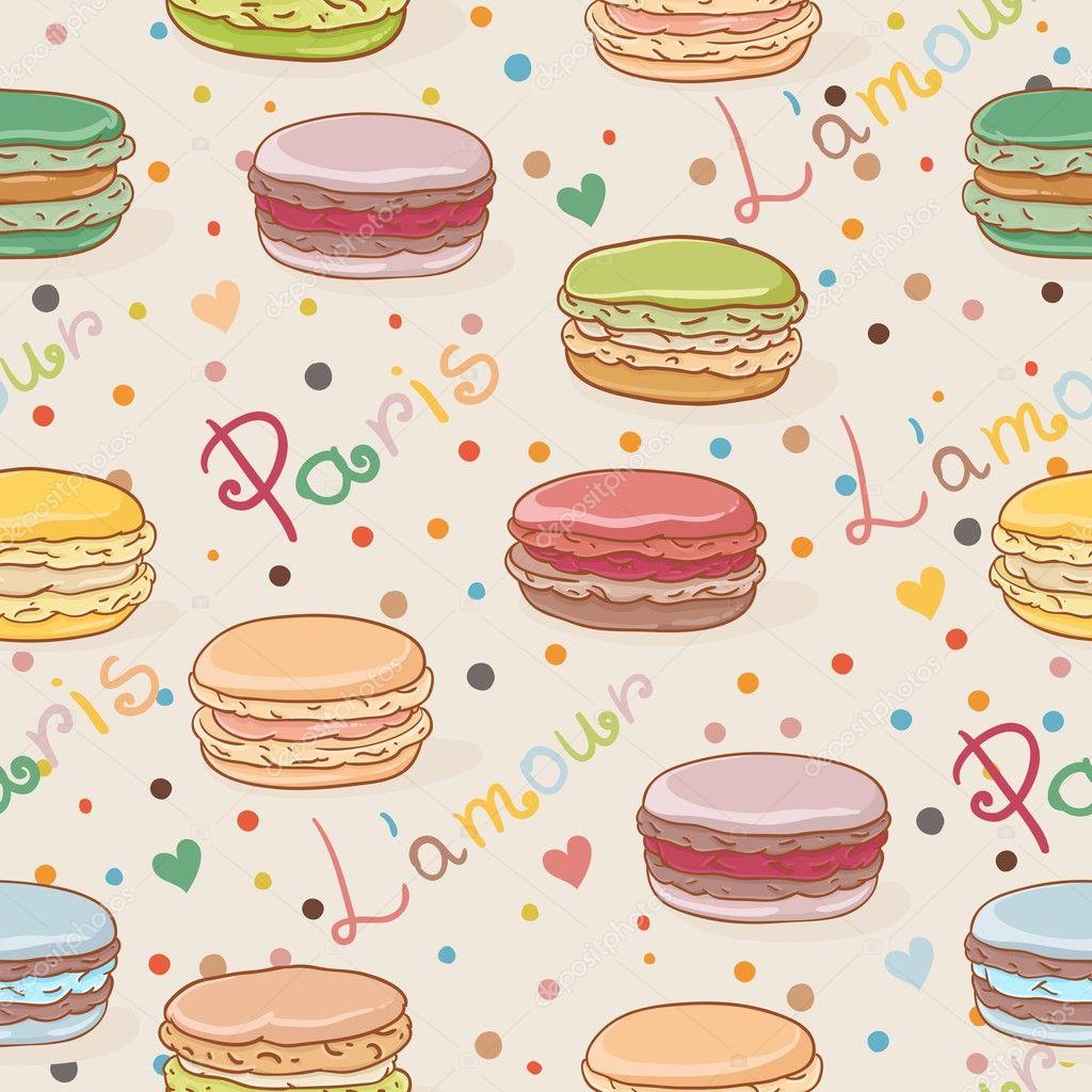 how to draw on macaron design
