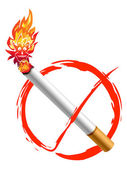 žádné kouření logo