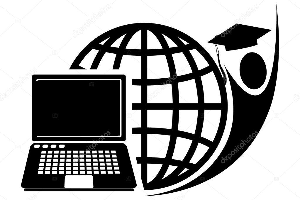 Educational logo — Stock Photo © magagraphics #10108569
