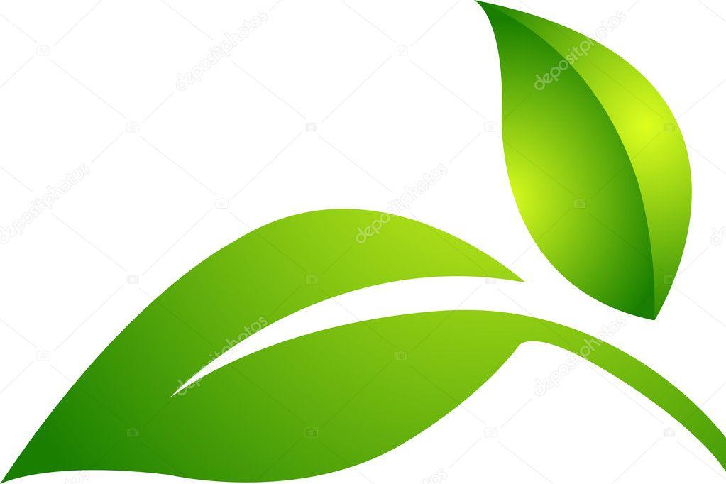 Two leaf logo