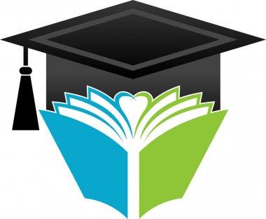 Book graduation cap