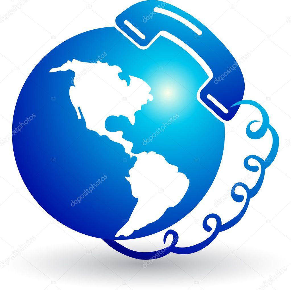 Telecommunication logo — Stock Vector © magagraphics #9692484 | 1023 x 1017 jpeg 85kB