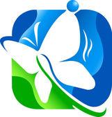 Schmetterling-Logo