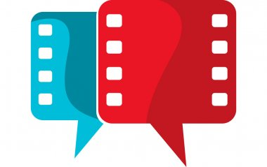 Film speech logo