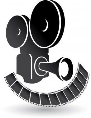 Camera and film logo
