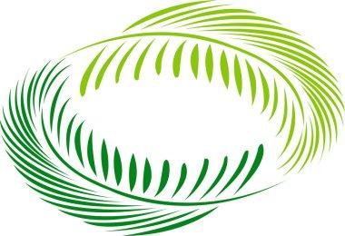 Coconut leaf