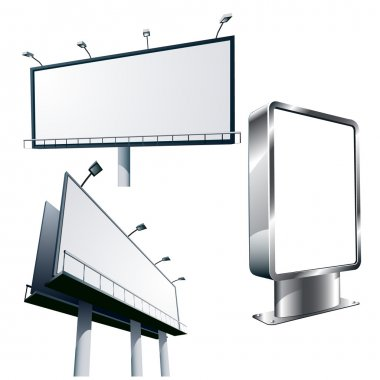 Outdoor advertising billboards