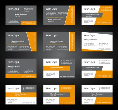 Business card set for you business