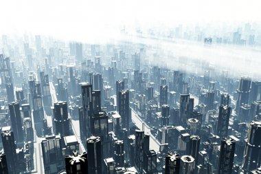 Metropolis 3D render
