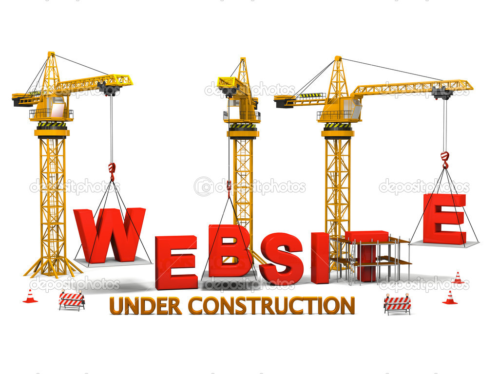 how to make an under construction page