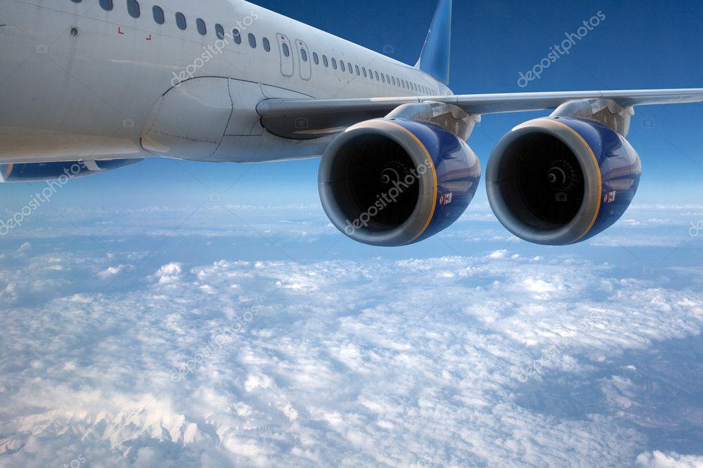 Big airliner.